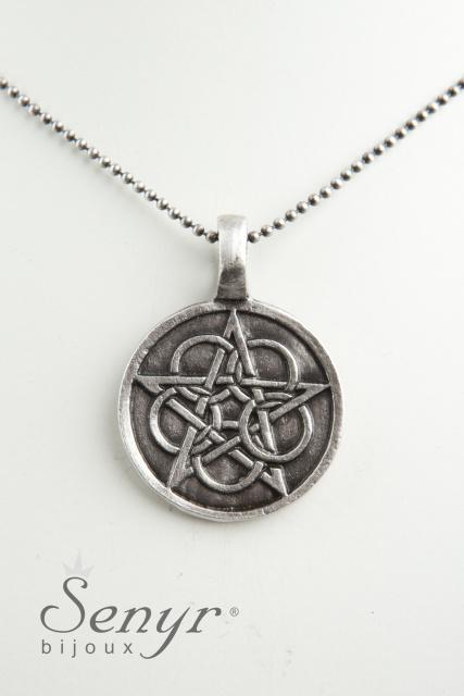 Pentagram s Květem života