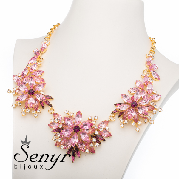 Deluxe necklace Precious Blossom