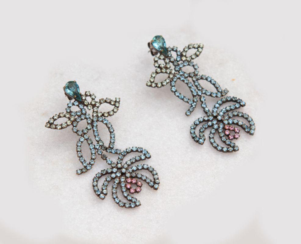 Náušnice/ Earrings ORCHIDEA