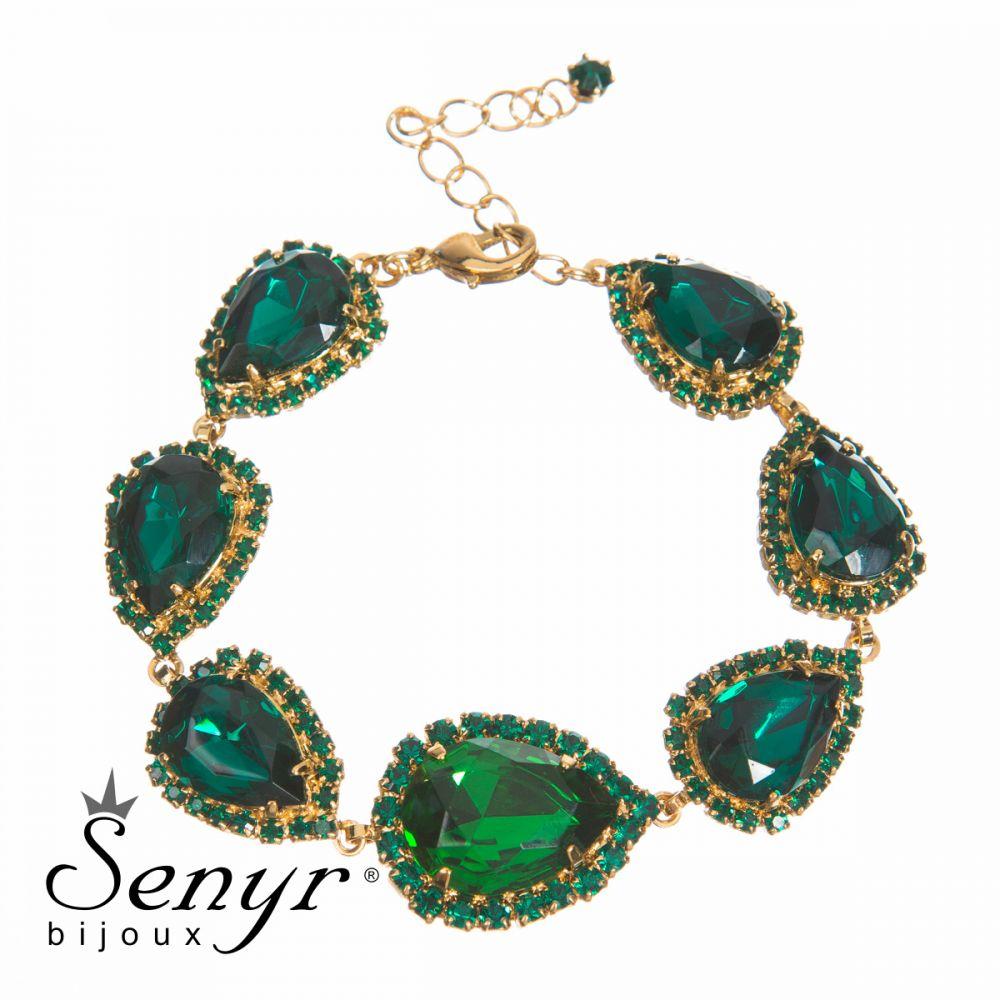 Náramek Queen Emerald