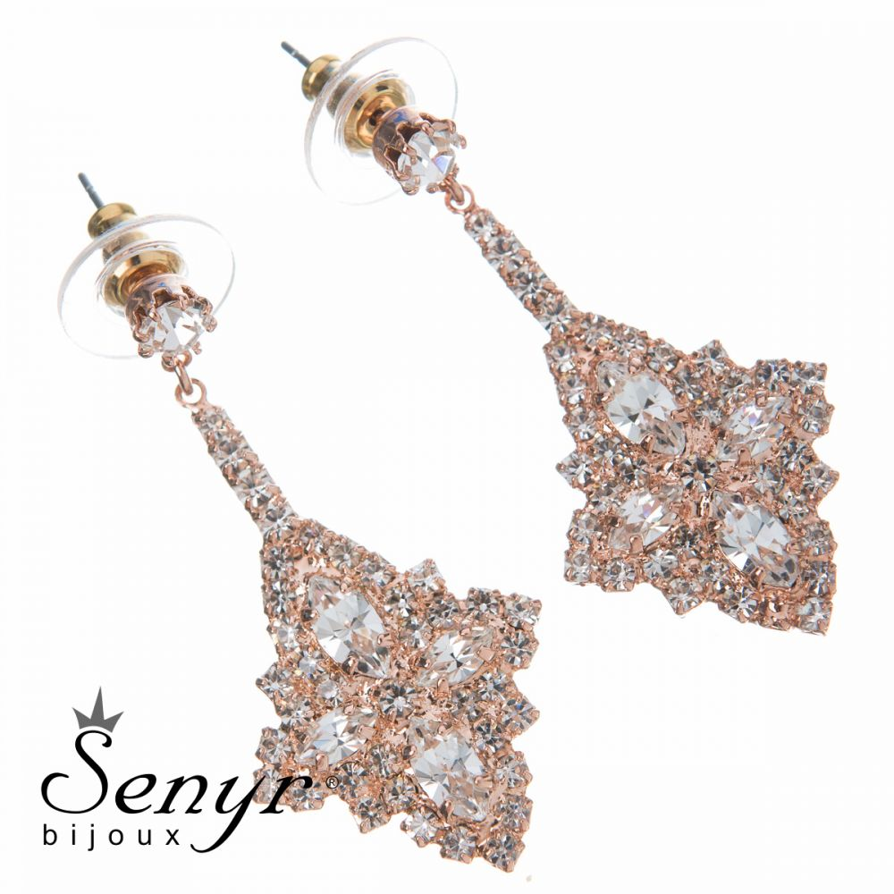 Earrings Eternal Beauty Rose Gold