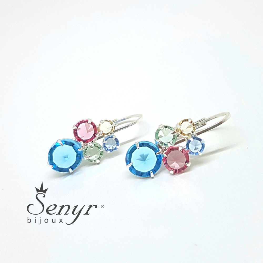 Bohemia crystal earrings HONEY
