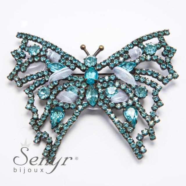 Luxusní brož motýl