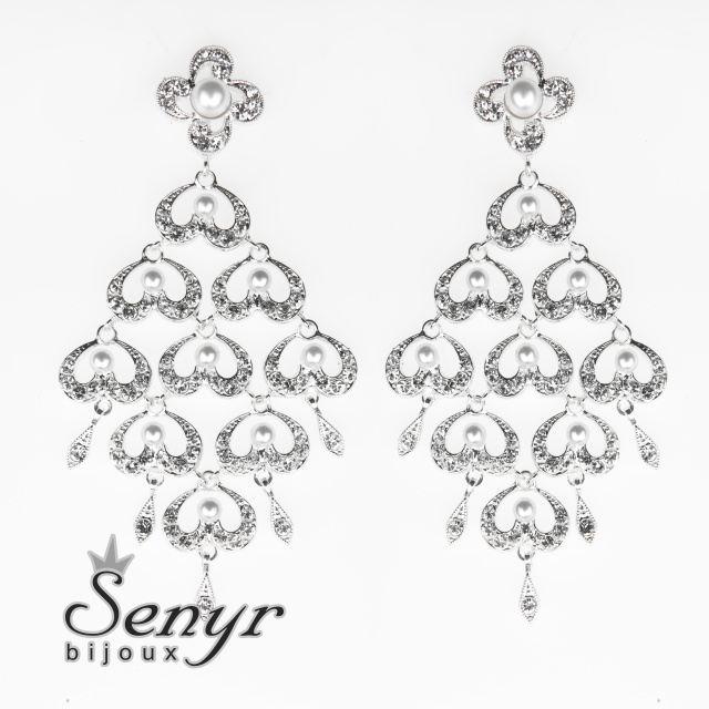 Luxusní náušnice s perličkami