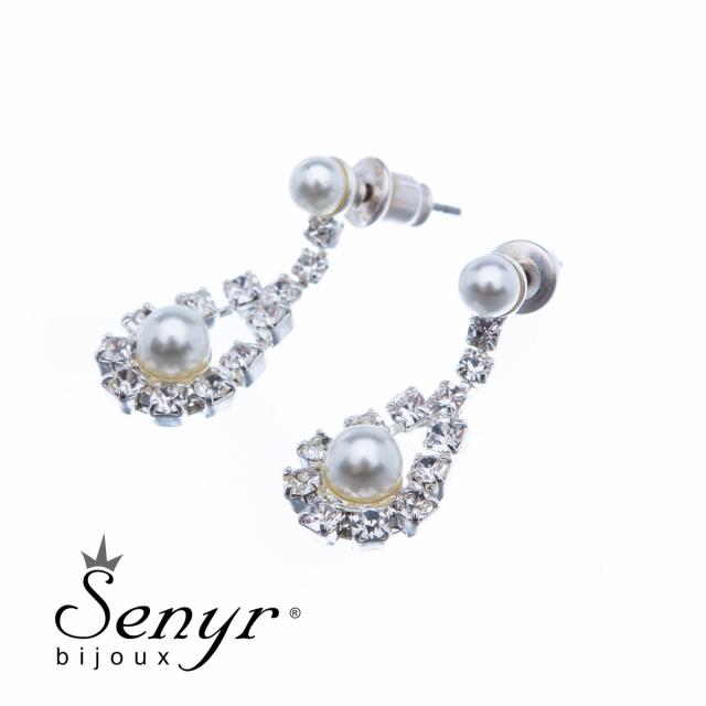 Náušnice s perličkou