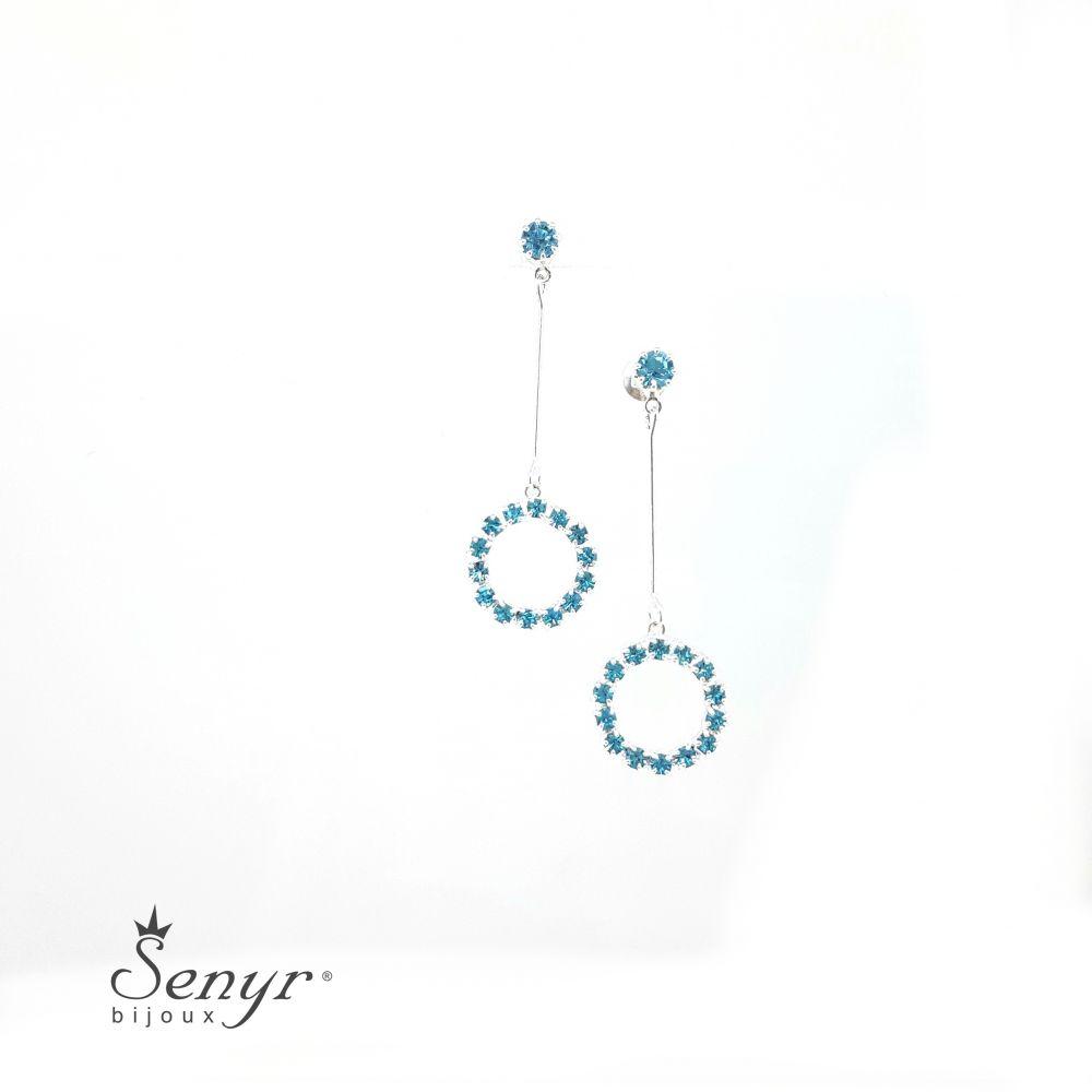 Bohemian crystal earrings RING