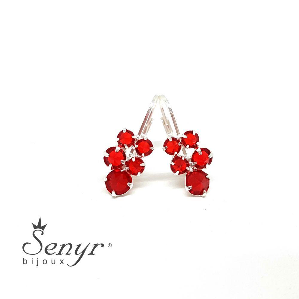 Bohemian crystal earrings Tini
