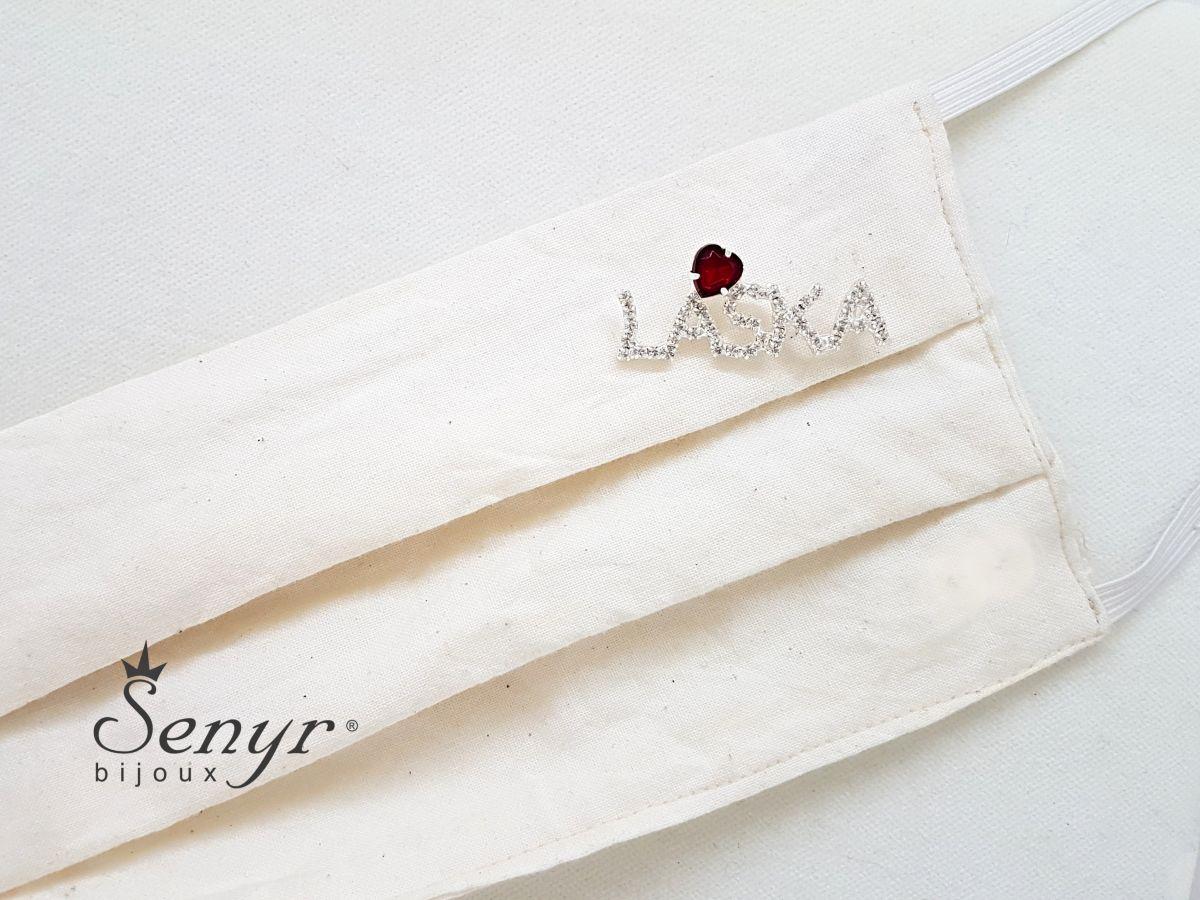 LASKA brooch of love