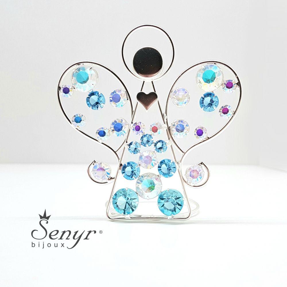 Crystal ANGEL - candle holder