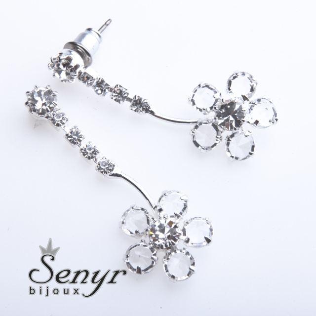 Earrings flowers