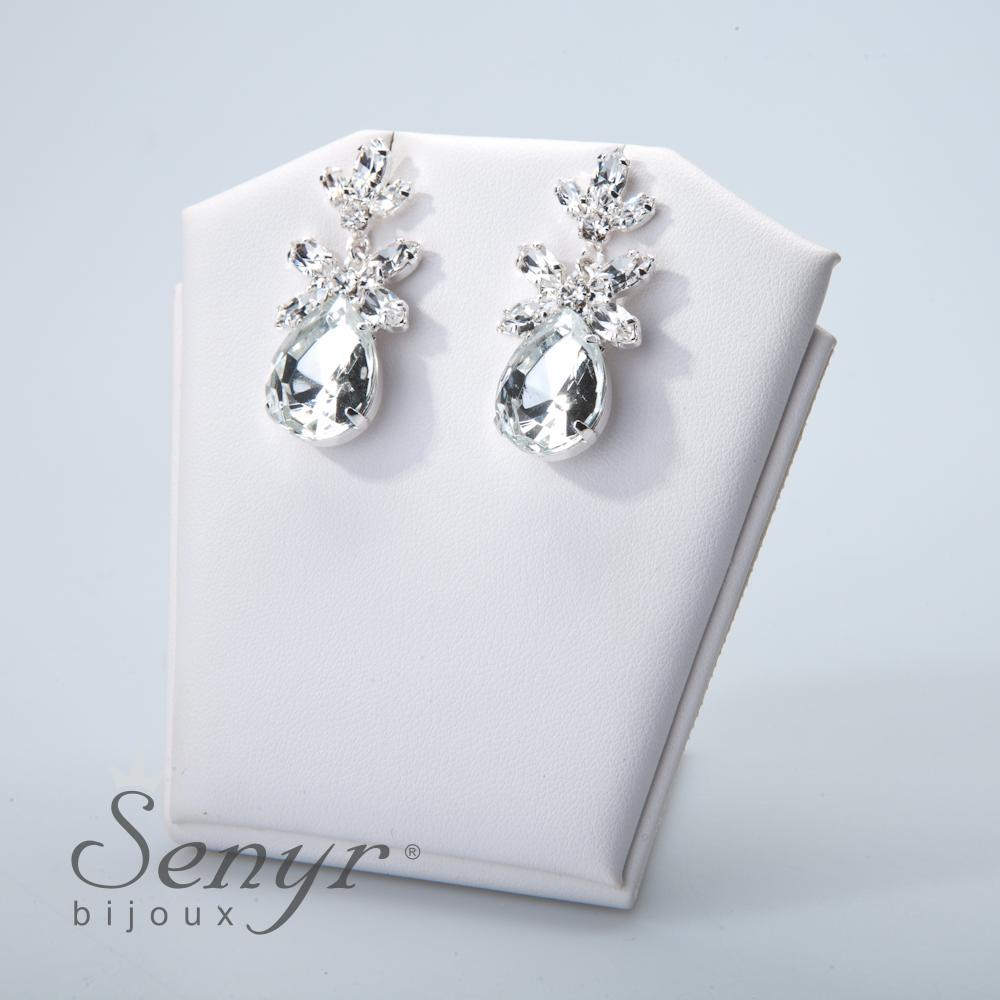 Earrings Emerald Treasure