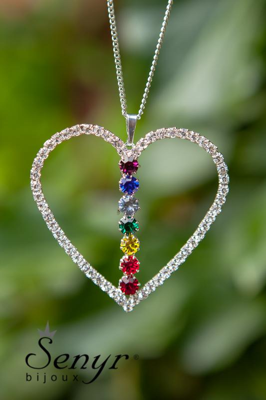Čakrové srdce menší/ Chakra Heart small