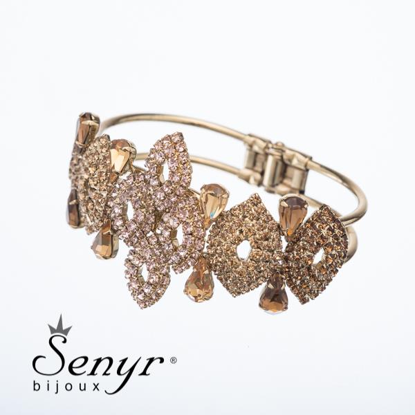 Deluxe bracelet Brown Flirt