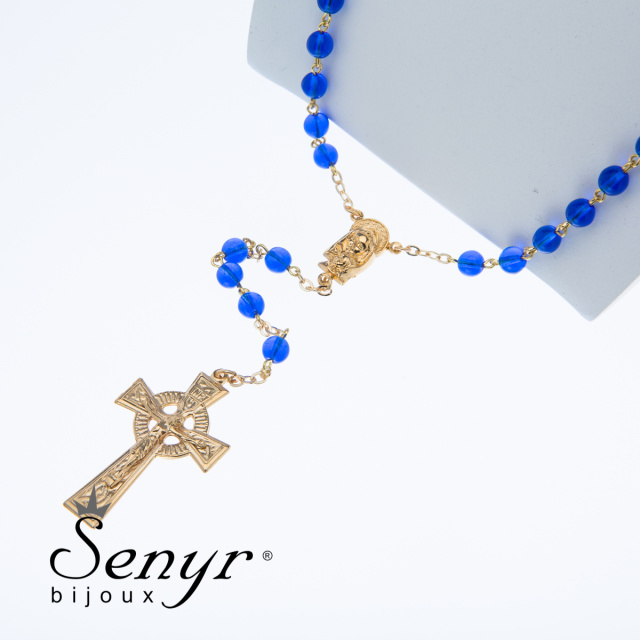 Rosary blue