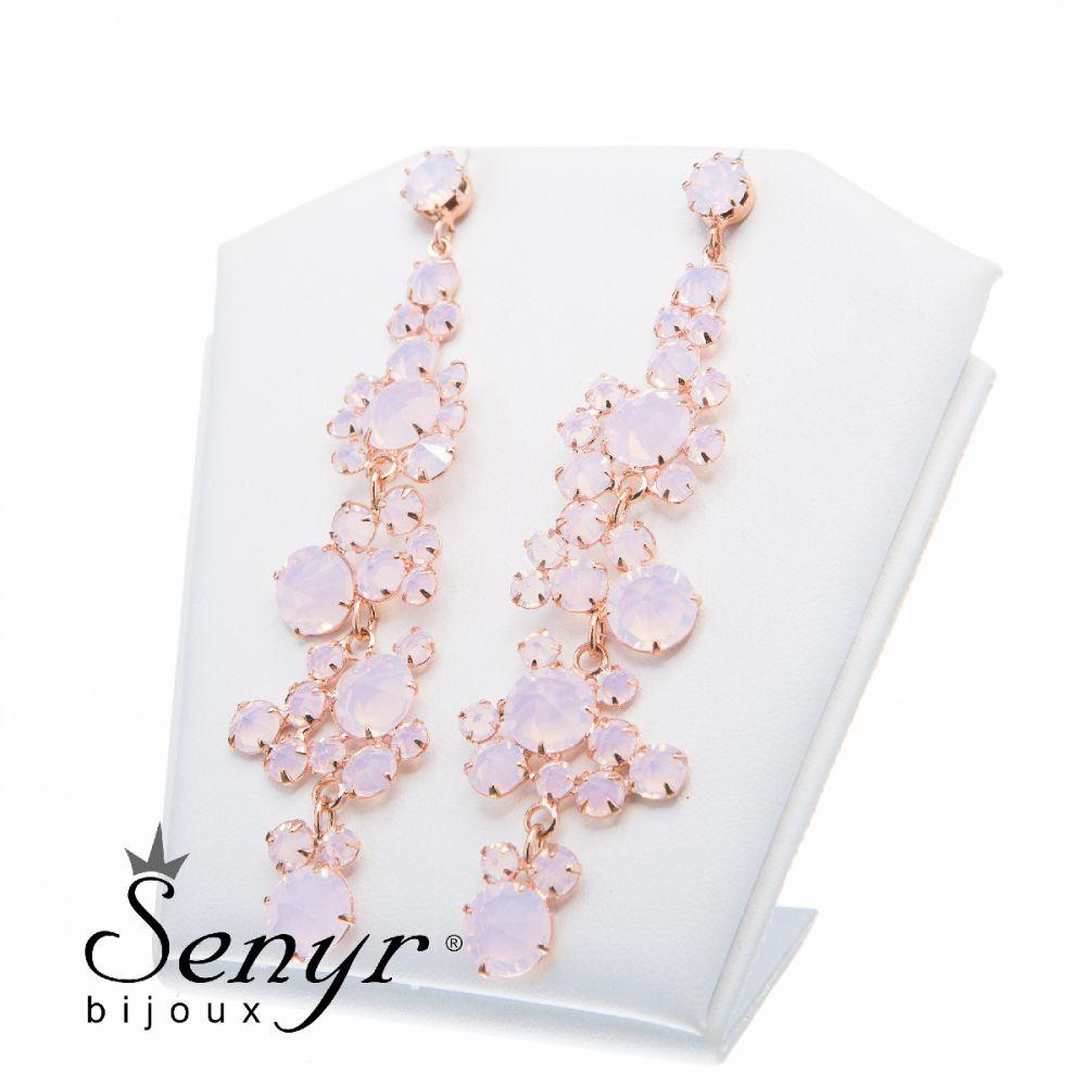 Earrings Romance Rose Opal