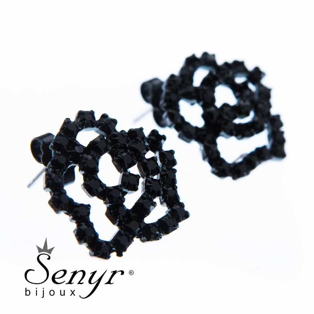 Earrings Small Rose