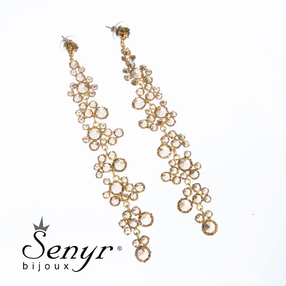 Earrings Endless Romance Gold