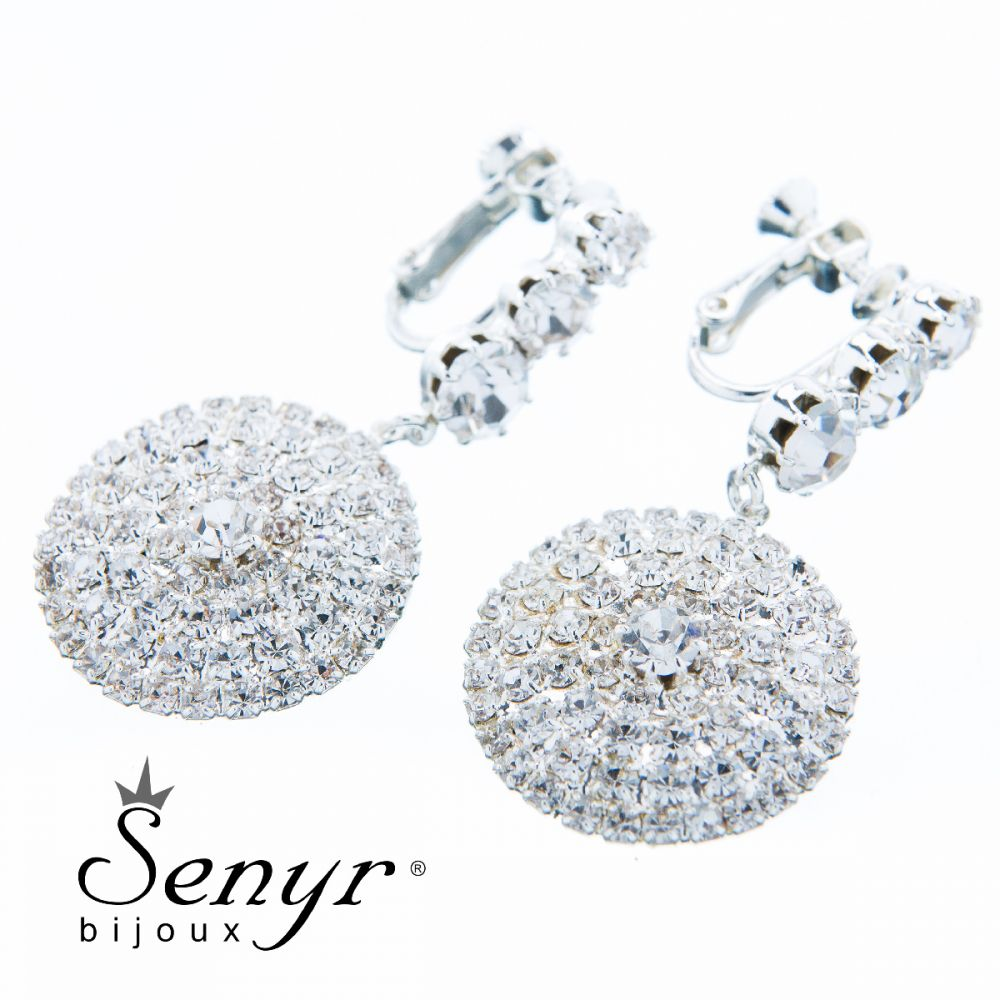 Earrings Pure Beauty Transparent
