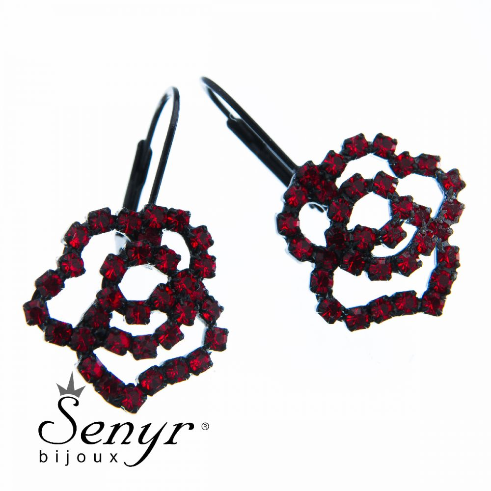 Earrings Small Rose
