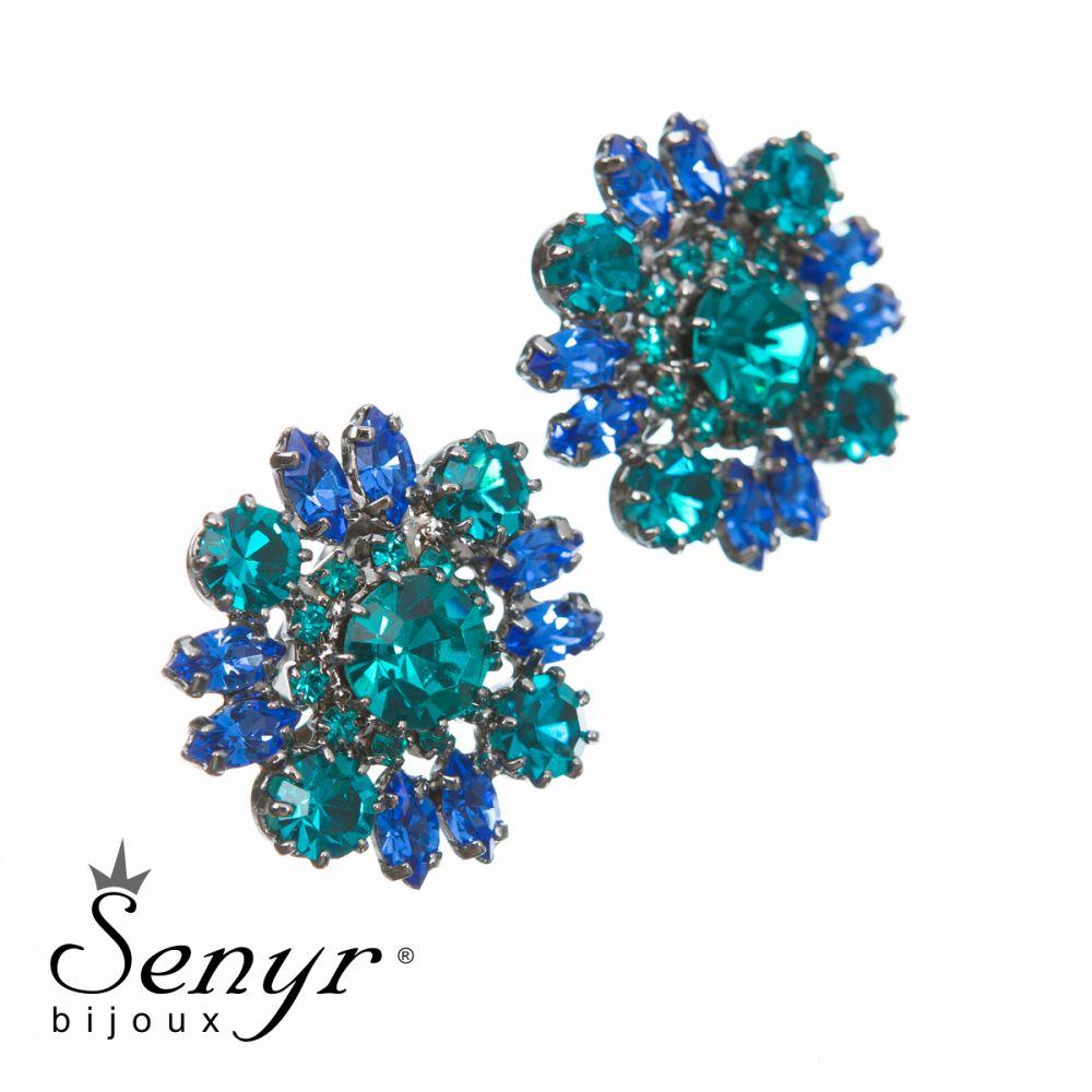 Earrings Queen Flower