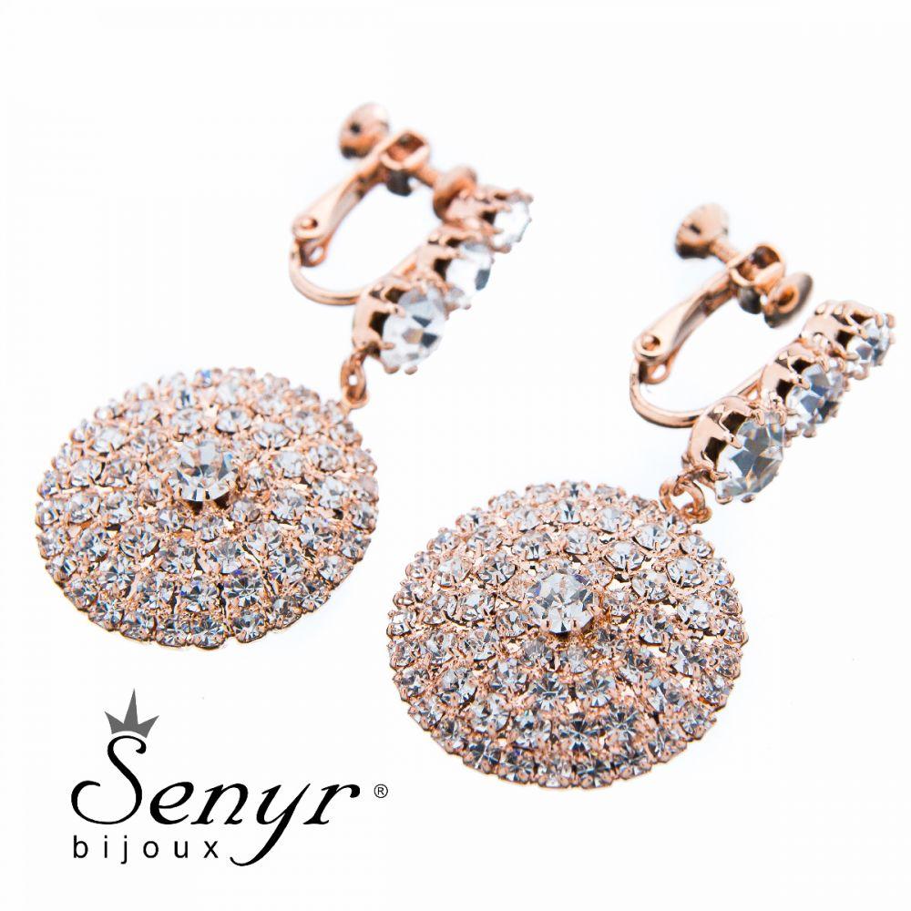 Earrings Pure Beauty Rose Gold