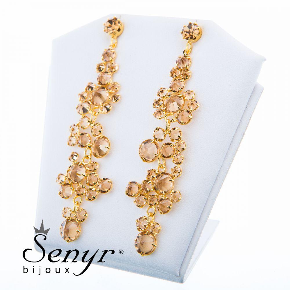 Earrings Golden Romance