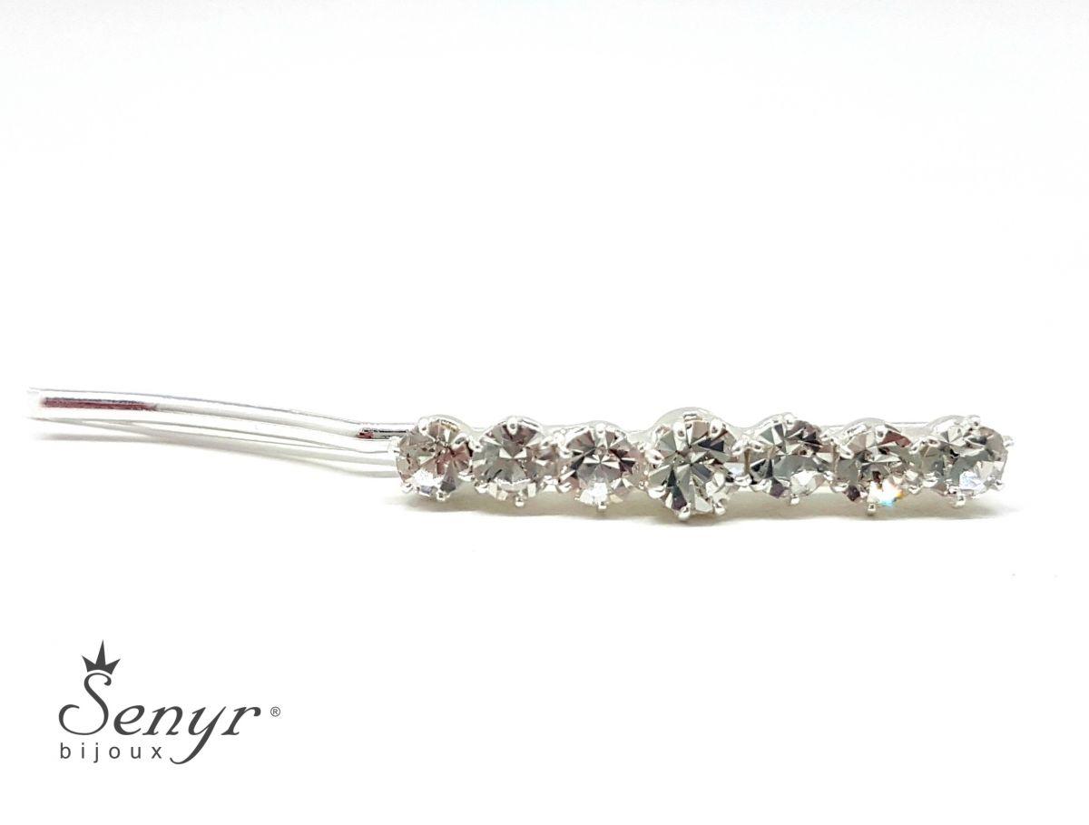 Hair clip Crystals