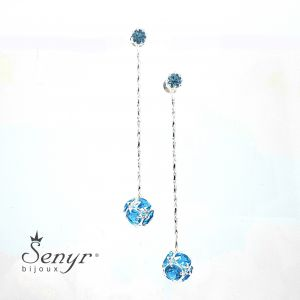 Bohemian crystal earrings BALL