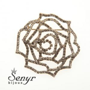 Brooch rose gold