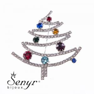 CHristmas tree brooche