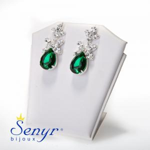 Earrings Emerald Treasure