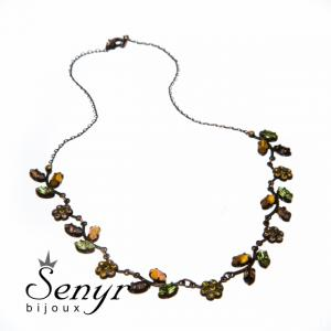 Necklace Autumn Love