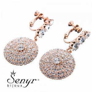 Earrings Pure Beauty Rose Gold